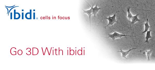 【ibidi社最新ニュースレター】Go 3D With ibidi